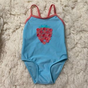 First Impressions Baby Strawberry Swimsuit